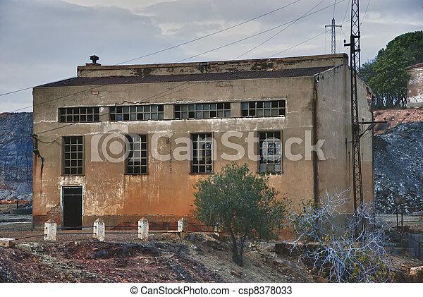industrial building - csp8378033