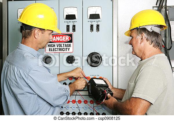 Industrial Electricians - csp0908125