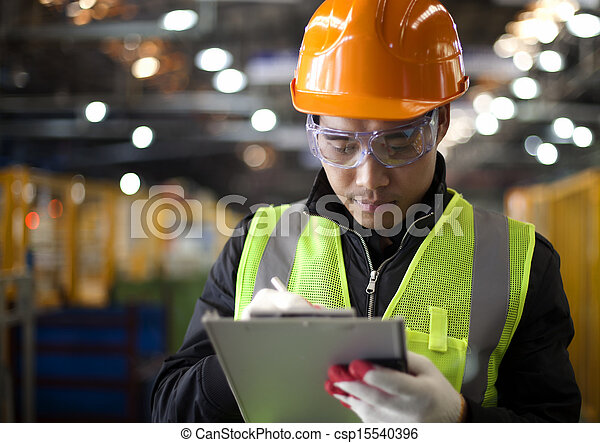 industrial, engenheiro - csp15540396