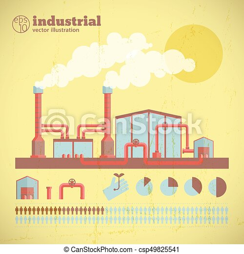 Industrial factory pipes template. Industrial factory pipes template ...