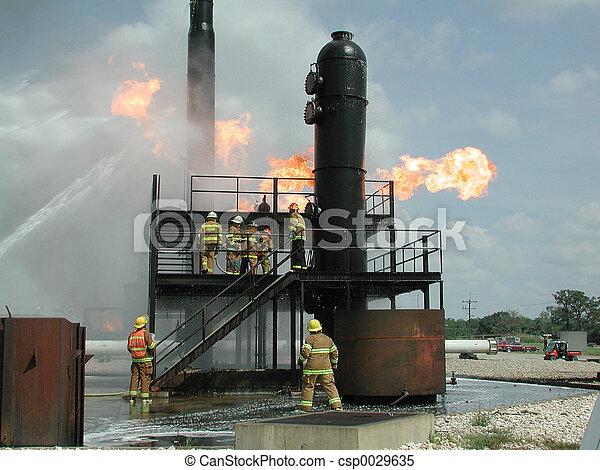 Industrial Fire - csp0029635