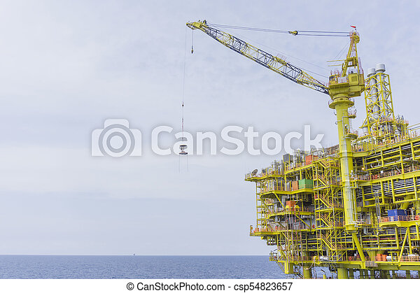 industrial, gas, aceite - csp54823657