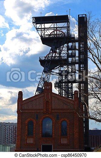 Industrial Katowice, Poland - csp86450970