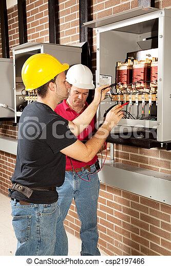 Industrial Maintenance Work - csp2197466