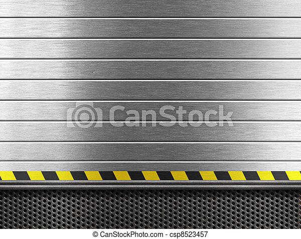 industrial, metal, fundo - csp8523457