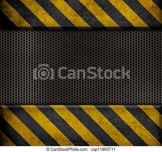 industrial metal template background - csp11903711