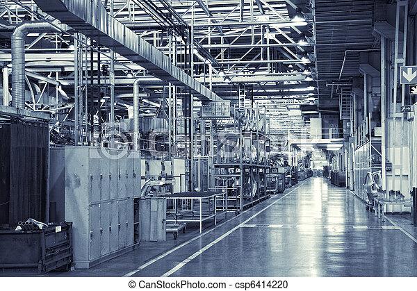Un fondo industrial - csp6414220