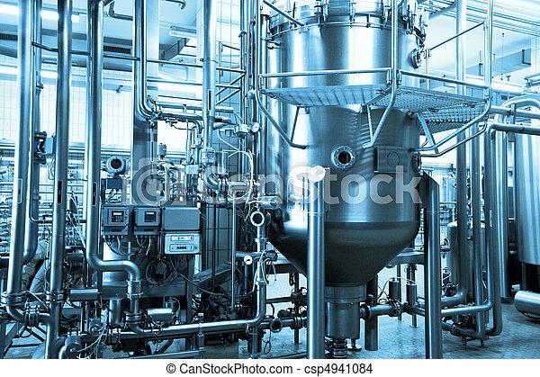 industrial, plano de fondo - csp4941084