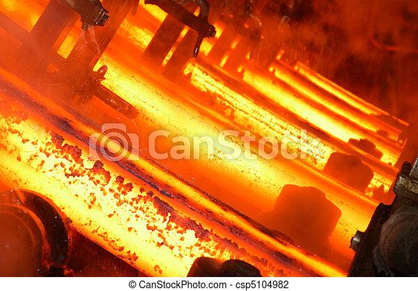 industrial, plano de fondo - csp5104982