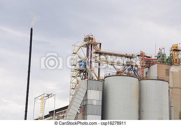 Industrial Plant  - csp16278911