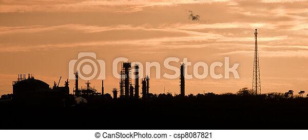 Industrial Plant - csp8087821