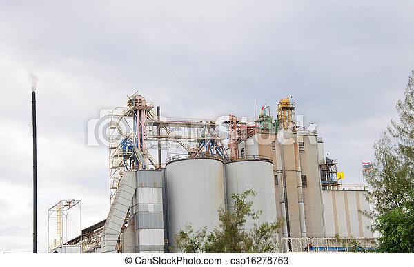 Industrial Plant  - csp16278763