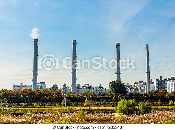 Industrial plant - csp17232343