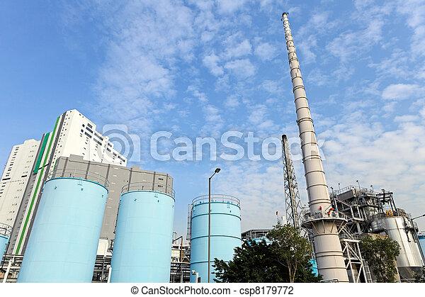 industrial plant - csp8179772