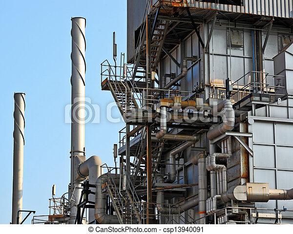industrial plant  - csp13940091