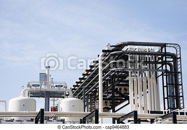 Industrial plant - csp9464883
