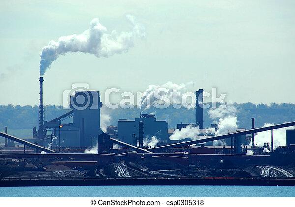 Industrial pollution - csp0305318