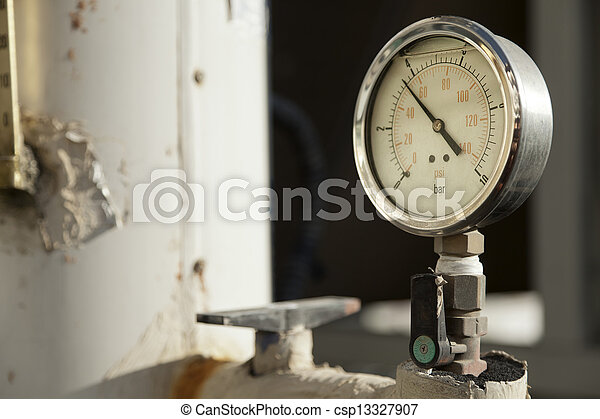 Industrial Pressure Gauge - csp13327907