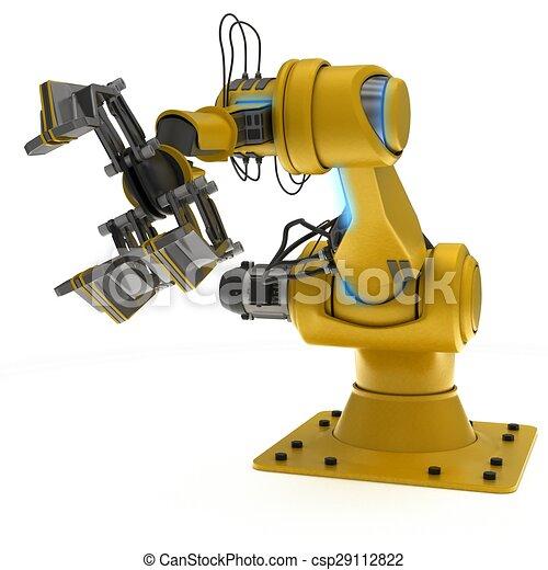 Industrial Robot Arm - csp29112822