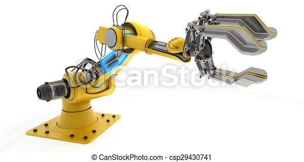 Industrial Robot Arm - csp29430741