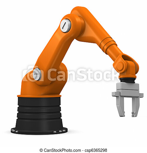 Industrial robotic arm - csp6365298