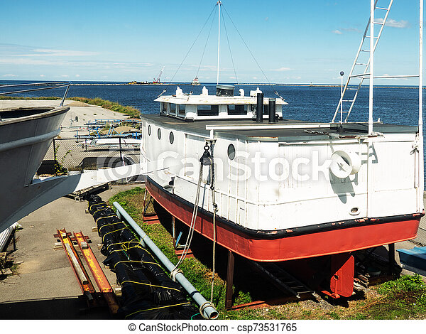 Industrial seaport and docks - csp73531765
