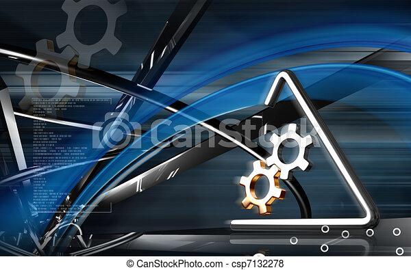 Industrial symbol - csp7132278