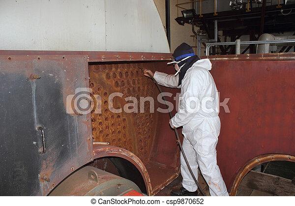 Una caldera industrial limpia - csp9870652