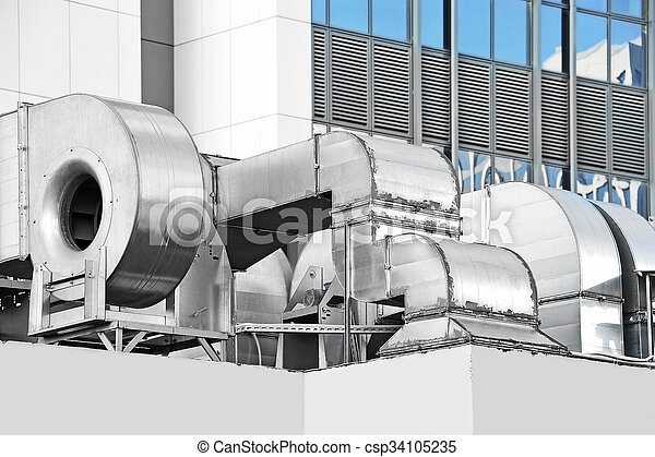 Storage factory air conditioning and ventilation equipment