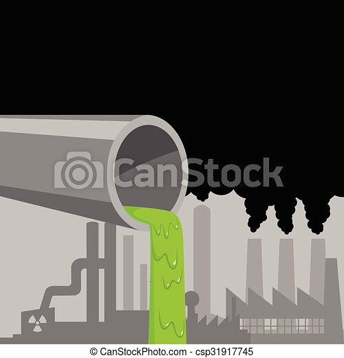 Industrial Waste - csp31917745