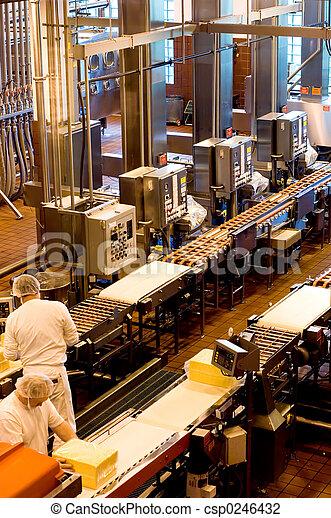 Industrial workers - csp0246432