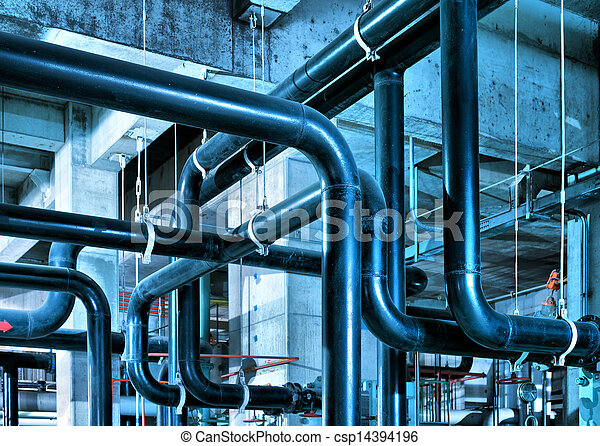 Industrial Zone pipeline - csp14394196