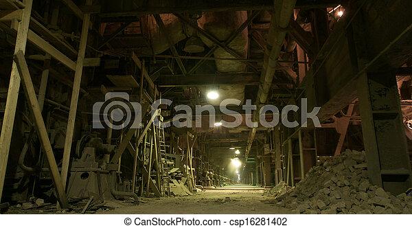 Industrial zone, Steel pipelines - csp16281402