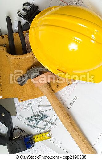industrie, bouwsector - csp2190338