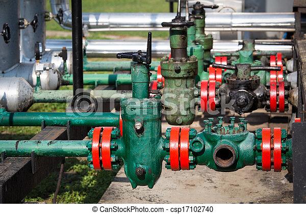 industrie, olie, gas - csp17102740