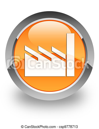 industrie reus, glanzend, pictogram - csp9778713