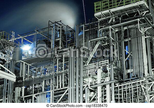 industriebedrijven, complex - csp18338470