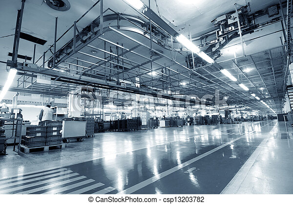 industriebedrijven, ruimte - csp13203782