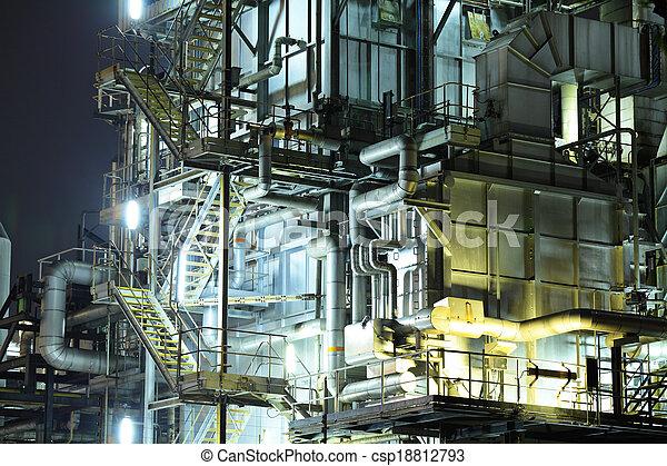 industriel, complexe - csp18812793