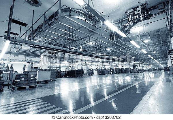 industriel, espace - csp13203782