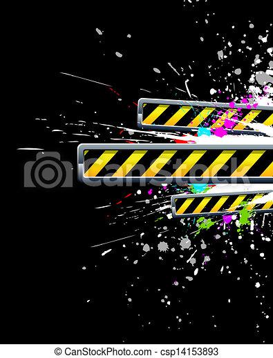 industriel, fond - csp14153893