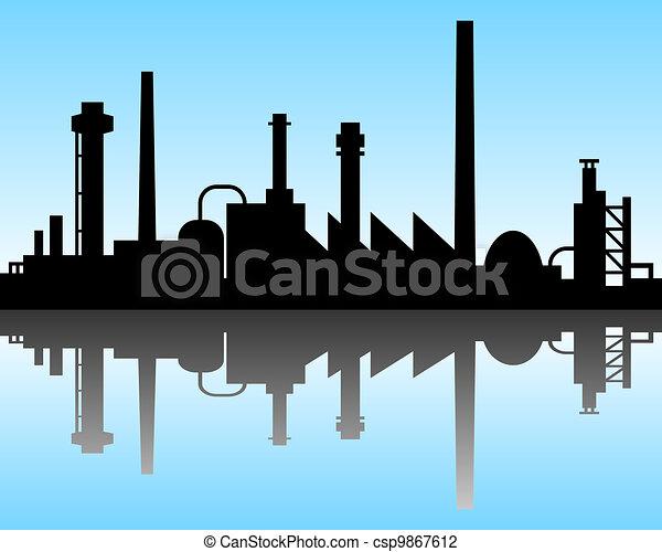 industriel, fond - csp9867612