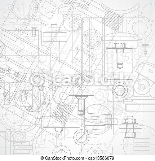 industriel, fond - csp13586079