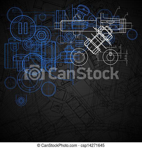 industriel, fond - csp14271645