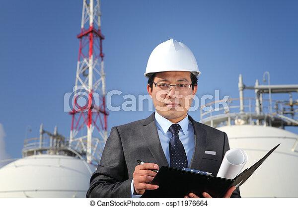 industriel, ingénieur - csp11976664