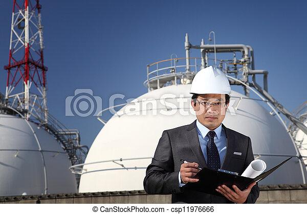 industriel, ingénieur - csp11976666