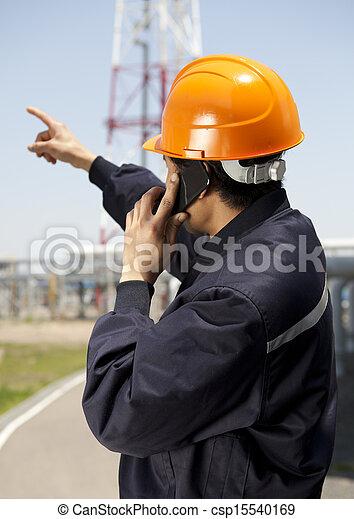 industriel, ingénieur - csp15540169