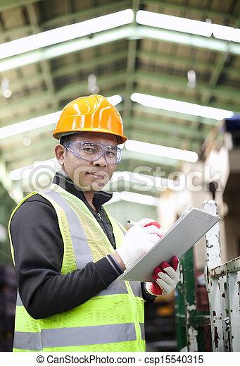 industriel, ingénieur - csp15540315
