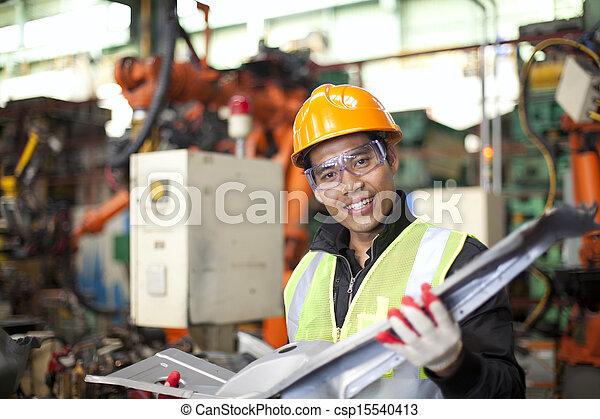 industriel, ingénieur - csp15540413
