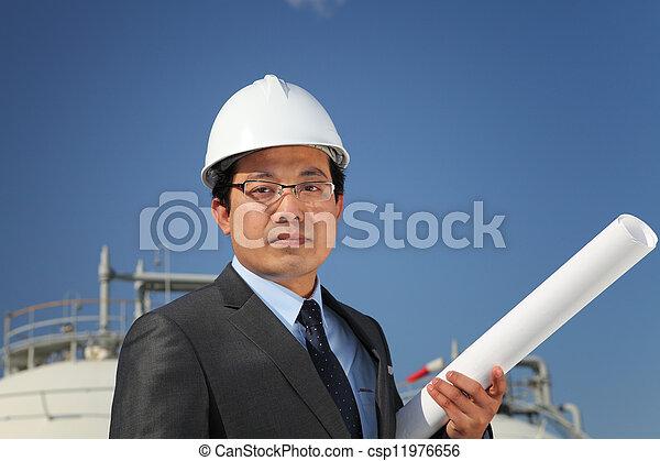 industriel, ingénieur - csp11976656